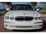 2002 Jaguar X-Type White Onyx