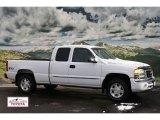 2005 Summit White GMC Sierra 1500 SLE Extended Cab 4x4 #59688997
