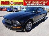 2005 Black Ford Mustang V6 Premium Convertible #59689477