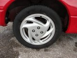 2001 Ford Escort ZX2 Coupe Wheel