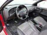 2001 Ford Escort ZX2 Coupe Dark Charcoal Interior