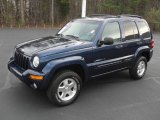 2002 Patriot Blue Pearlcoat Jeep Liberty Limited 4x4 #59689462