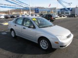 2005 CD Silver Metallic Ford Focus ZX4 SE Sedan #59688970
