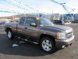 2008 Desert Brown Metallic Chevrolet Silverado 1500 LT Extended Cab 4x4 #59688959