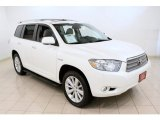 2010 Toyota Highlander Hybrid Limited 4WD Front 3/4 View