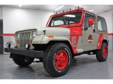 1994 Jeep Wrangler Jurassic Park Tan/Red