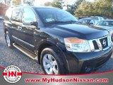 2012 Galaxy Black Nissan Armada SL #59688760