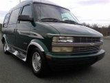 2000 Chevrolet Astro AWD Passenger Conversion Van Front 3/4 View