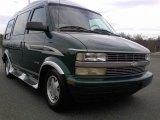 2000 Dark Forest Green Metallic Chevrolet Astro AWD Passenger Conversion Van #59689433