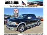 2012 Black Dodge Ram 1500 Laramie Crew Cab #59689173