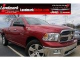 2010 Inferno Red Crystal Pearl Dodge Ram 1500 SLT Quad Cab #59689157