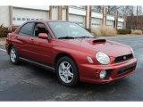 2002 Subaru Impreza WRX Sedan Data, Info and Specs