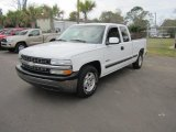 2002 Summit White Chevrolet Silverado 1500 LS Extended Cab #59739660