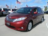 2012 Salsa Red Pearl Toyota Sienna Limited #59739026