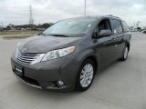 2012 Predawn Gray Mica Toyota Sienna Limited #59739025