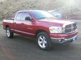2007 Inferno Red Crystal Pearl Dodge Ram 1500 SLT Quad Cab #59739609