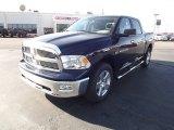 2012 Midnight Blue Pearl Dodge Ram 1500 Big Horn Crew Cab 4x4 #59739289