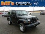 2011 Black Jeep Wrangler Sport 4x4 #59739569