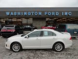 2010 White Platinum Tri-coat Metallic Ford Fusion SEL V6 AWD #59739268