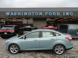 2012 Frosted Glass Metallic Ford Focus SEL Sedan #59739259
