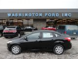 2012 Black Ford Focus SE Sedan #59739258