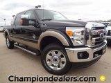2012 Tuxedo Black Metallic Ford F250 Super Duty Lariat Crew Cab 4x4 #59738949