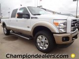 2012 Oxford White Ford F250 Super Duty King Ranch Crew Cab 4x4 #59738944
