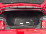 2012 Ford Mustang C/S California Special Coupe Trunk