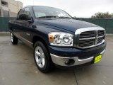 2008 Patriot Blue Pearl Dodge Ram 1500 Lone Star Edition Quad Cab #59739209