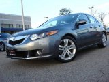 2010 Polished Metal Metallic Acura TSX V6 Sedan #59738891