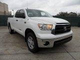 2012 Super White Toyota Tundra SR5 Double Cab 4x4 #59739203
