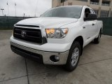 2012 Toyota Tundra SR5 Double Cab 4x4 Front 3/4 View