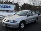 2003 Ultra Silver Metallic Chevrolet Cavalier Sedan #59739497