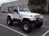 1998 Jeep Wrangler Stone White