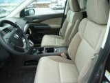2012 Honda CR-V EX 4WD Beige Interior