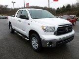 2011 Super White Toyota Tundra Double Cab 4x4 #59739473