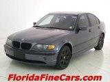 2002 Steel Grey Metallic BMW 3 Series 325i Sedan #5962811