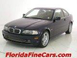 2002 Orient Blue Metallic BMW 3 Series 330i Coupe #5962804