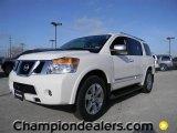 2012 Blizzard White Nissan Armada Platinum #59738843