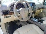 2012 Nissan Armada Platinum Almond Interior