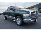 Forest Green Pearlcoat Dodge Ram 1500 in 2002