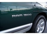 2002 Dodge Ram 1500 SLT Quad Cab Marks and Logos