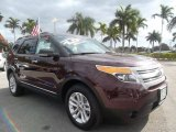2011 Bordeaux Reserve Red Metallic Ford Explorer XLT 4WD #59739069