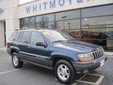 2002 Patriot Blue Pearlcoat Jeep Grand Cherokee Sport 4x4 #59739393