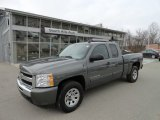 2011 Taupe Gray Metallic Chevrolet Silverado 1500 LS Extended Cab 4x4 #59797327