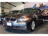 2007 Sparkling Graphite Metallic BMW 3 Series 328xi Sedan #5959132
