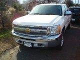 2012 White Diamond Tricoat Chevrolet Silverado 1500 LT Crew Cab 4x4 #59797319