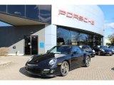 2012 Basalt Black Metallic Porsche 911 Turbo S Cabriolet #59797644