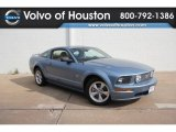 2007 Windveil Blue Metallic Ford Mustang GT Premium Coupe #59797953