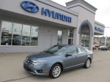 2011 Steel Blue Metallic Ford Fusion SEL V6 #59797262